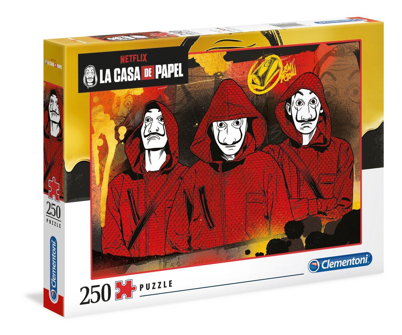 Netflix - La Casa de papel : Puzzle 250 pièces
