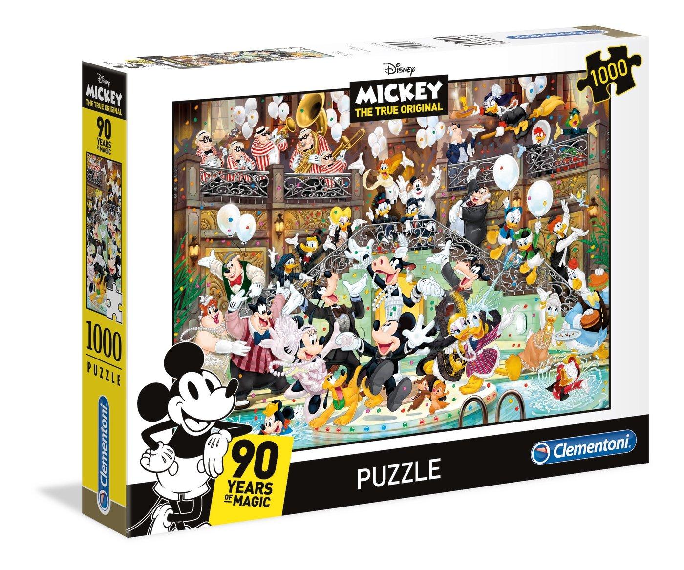 DISNEY - MICKEY 90TH CELEBRATION - PUZZLE 1000P