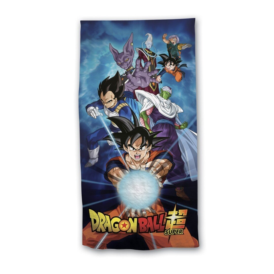 Dragon Ball Z : Serviette de plage personnages