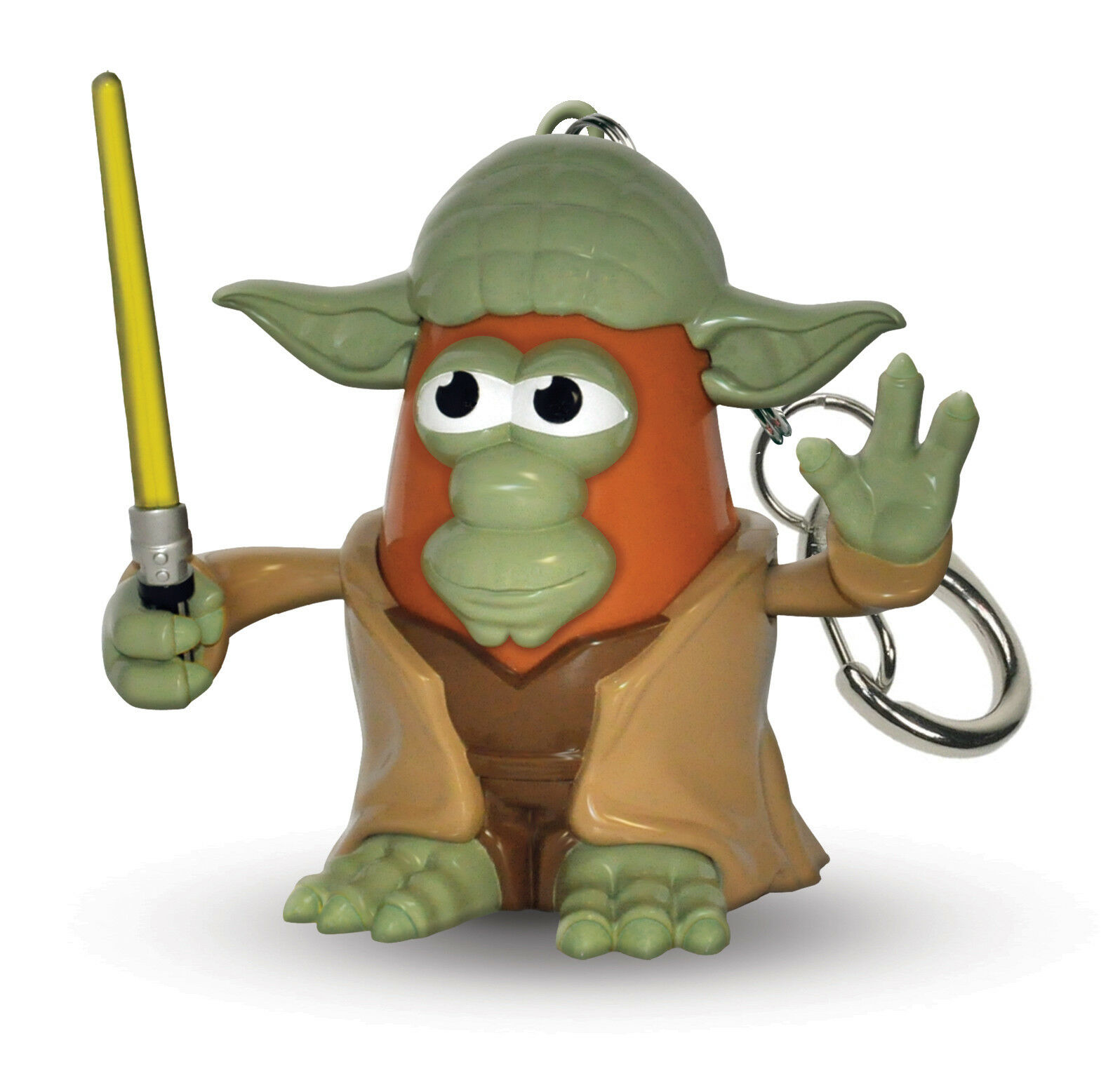 Star Wars - Porte-clé Mr.Patate Tête Yoda