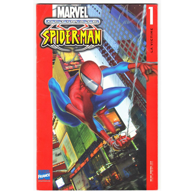 Comics - Marvel Ultimate : Spider-Man (1° Série) N° 1