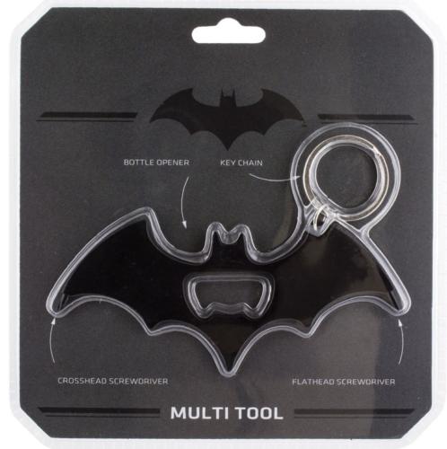 DC COMICS - Batman MULTI TOOL : Ouvre bouteille