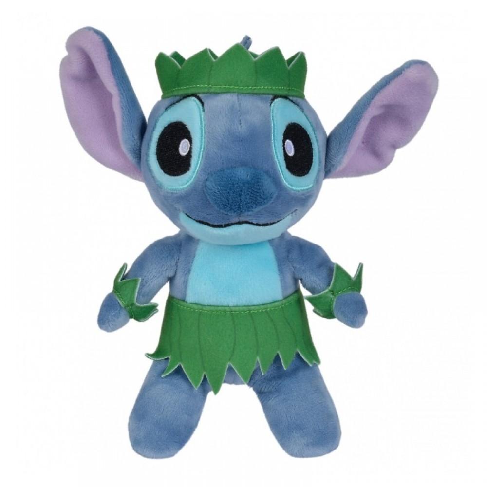 Disney - Lilo et Stitch : Peluche Stitch tenue aloha