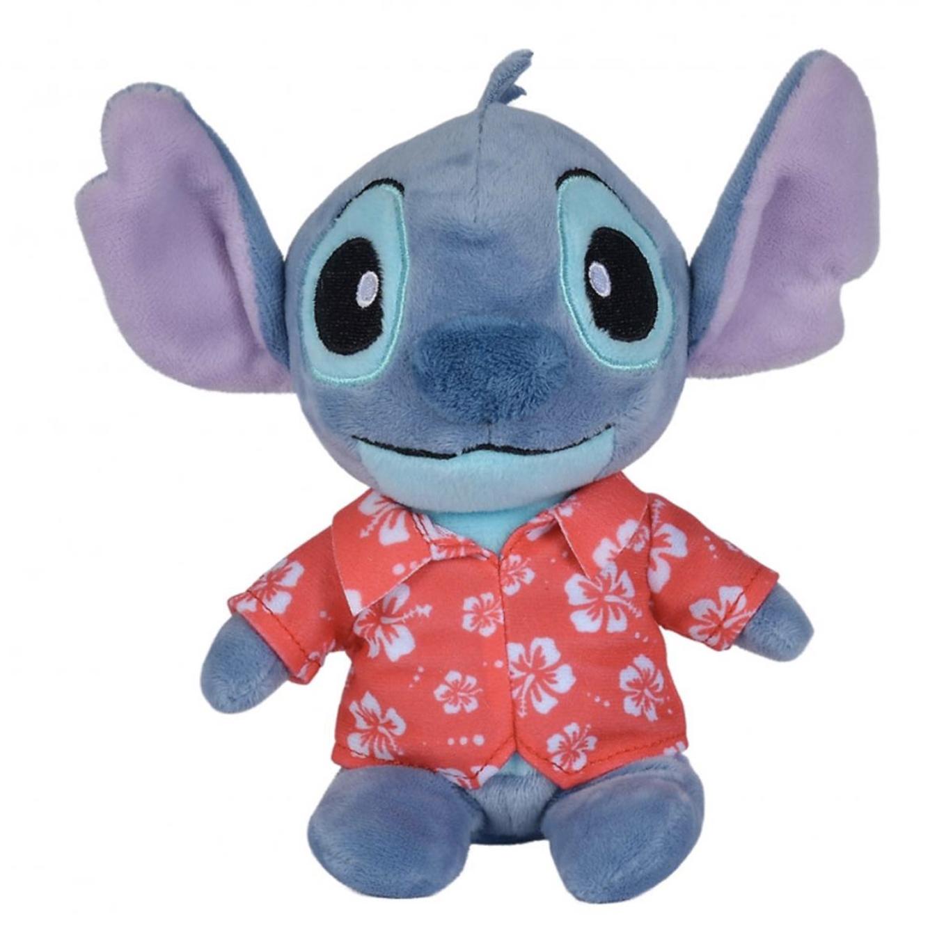 Disney - Lilo et Stitch : Peluche Stitch chemise Hawaii