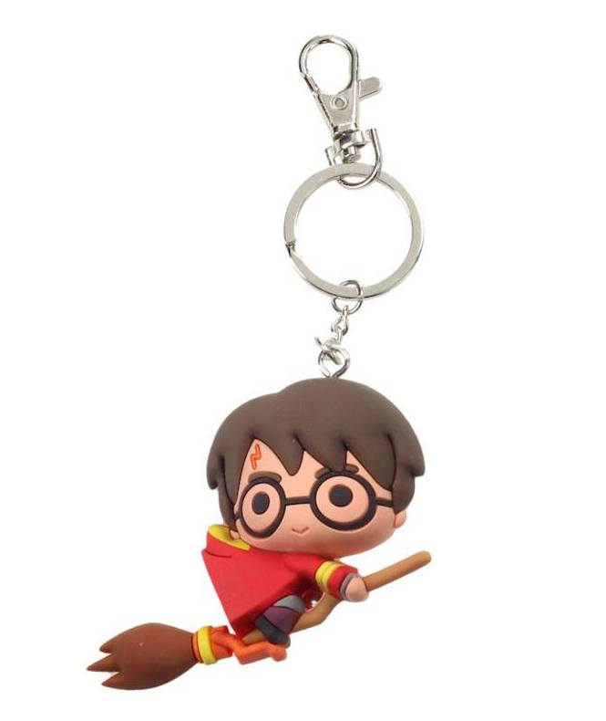 Warner Bros - Harry Potter : Porte clé Harry quidditch
