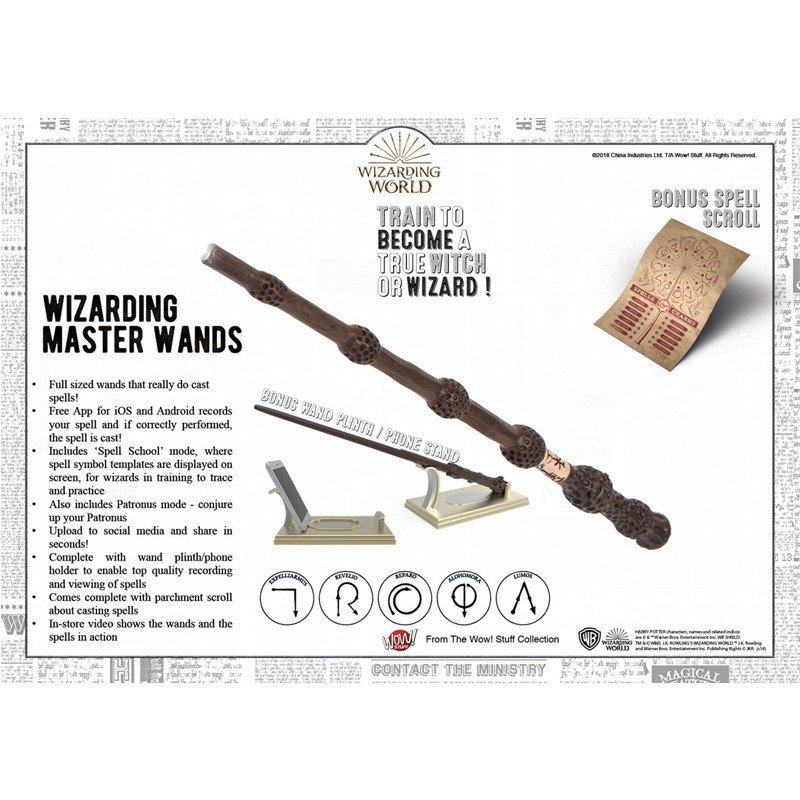 Warner Bros - Harry Potter : Baguette spéciale sortilèges light painting sureau