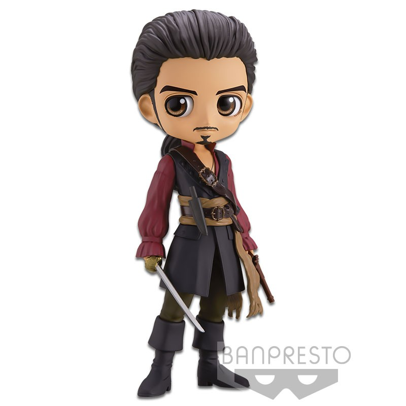 Disney - Q Posket : Figurine Will Turner Ver. A