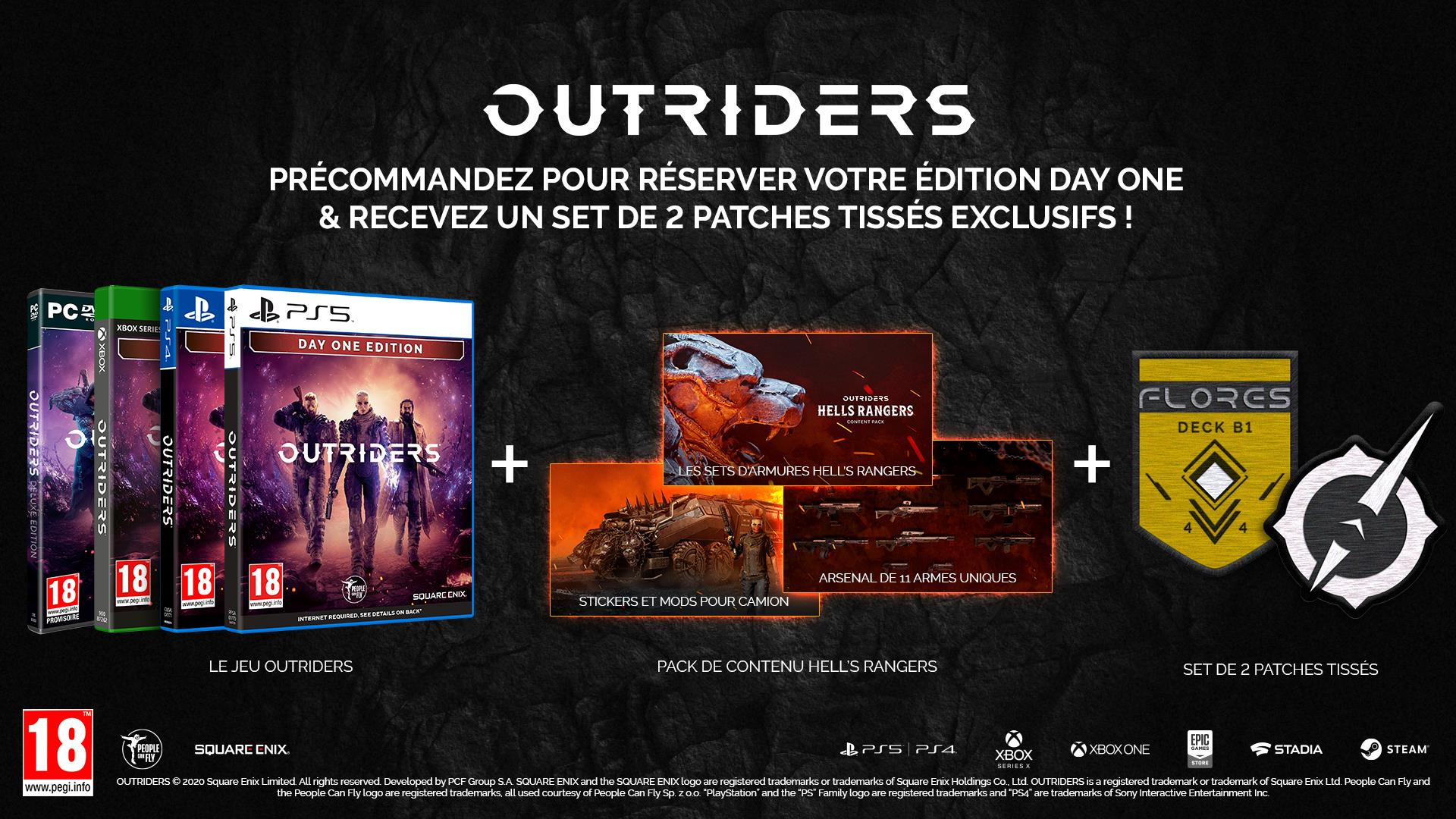 Xbox One - Playstation 4 : Outriders Day One Edition