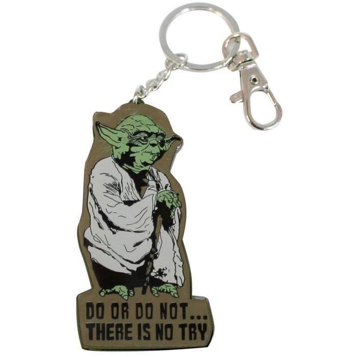 Star Wars - Porte-clé Yoda Métal