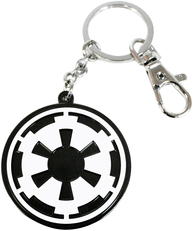 Star Wars - Porte-clé Logo Imperial (Emblème de l\'empire) Métal