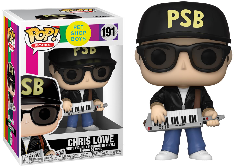 PET SHOP BOYS - BOBBLE HEAD POP N° 191 - CHRIS LOWE