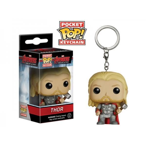 Marvel - POCKET POP KEYCHAINS : AVENGERS - AGE OF ULTRON - Thor