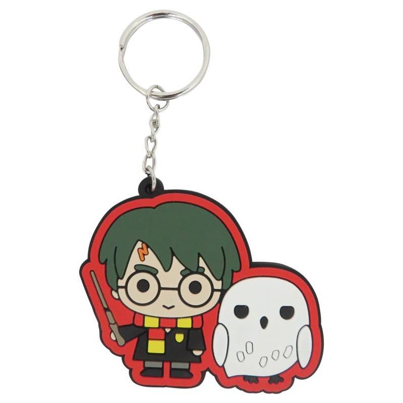 Harry Potter - Porte-clé 2D : Harry et Hedwige