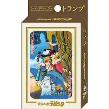 Ghibli - Le château dans le ciel : Jeu de cartes à jouer