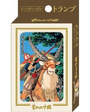 Ghibli - Princesse Mononoké : Jeu de cartes à jouer
