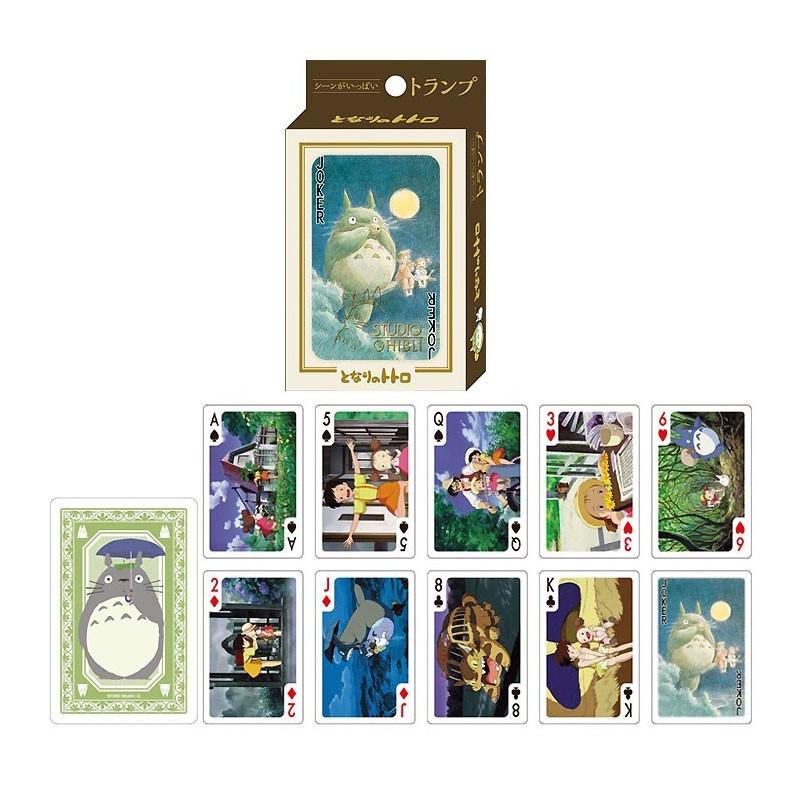 Ghibli - Mon voisin Totoro : Jeu de cartes à jouer