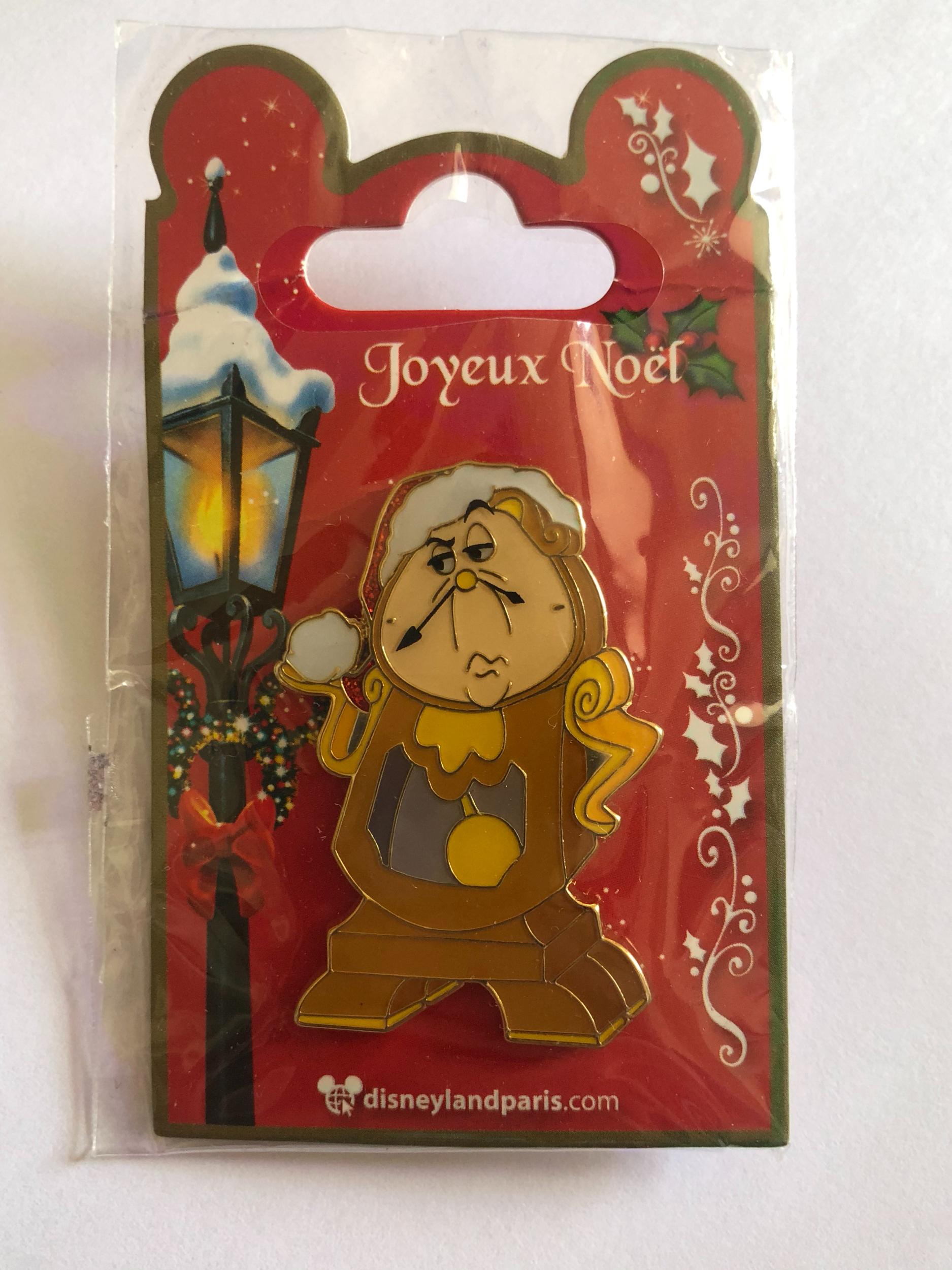 Disney - LA BELLE ET LA BETE : Pin\'s Noël Big Ben OE