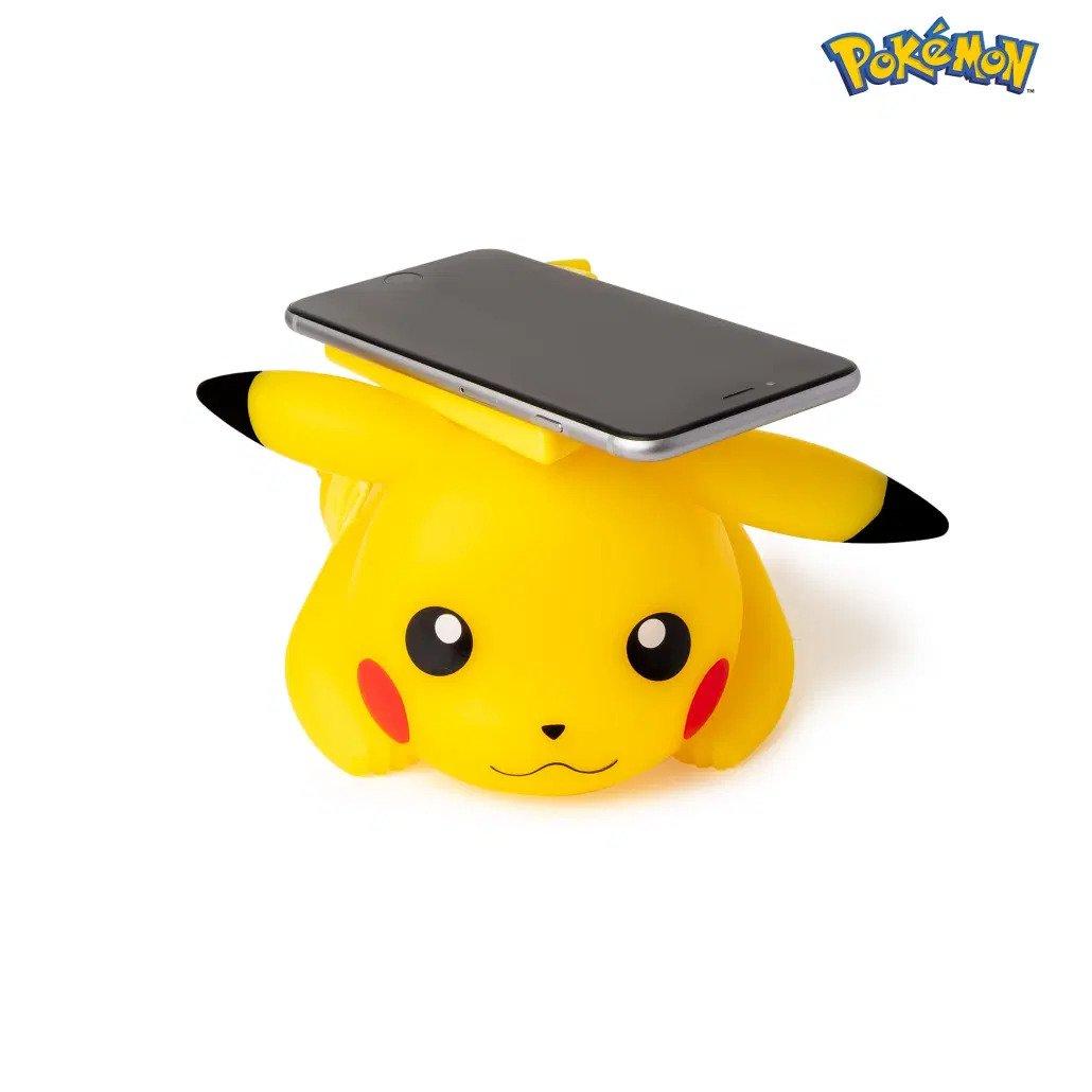 Pokémon - Chargeur sans fil / USB : Pikachu