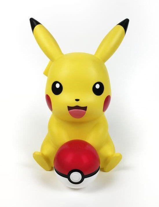 Pokémon - Haut parleur Bluetooth & Lampe LED : Pikachu