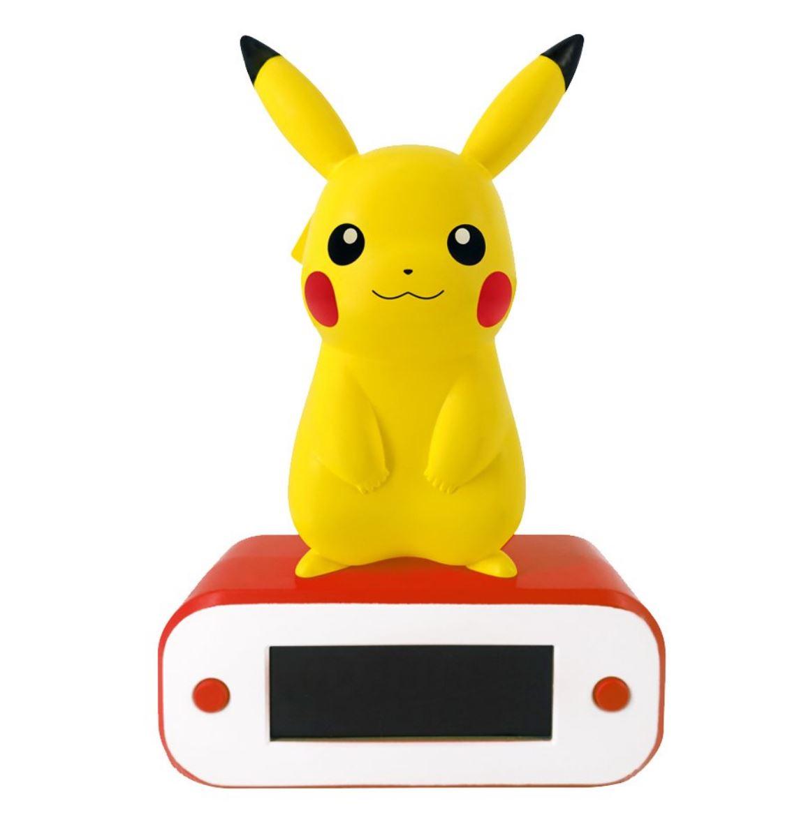 Pokémon - Réveil avec lampe : Pikachu