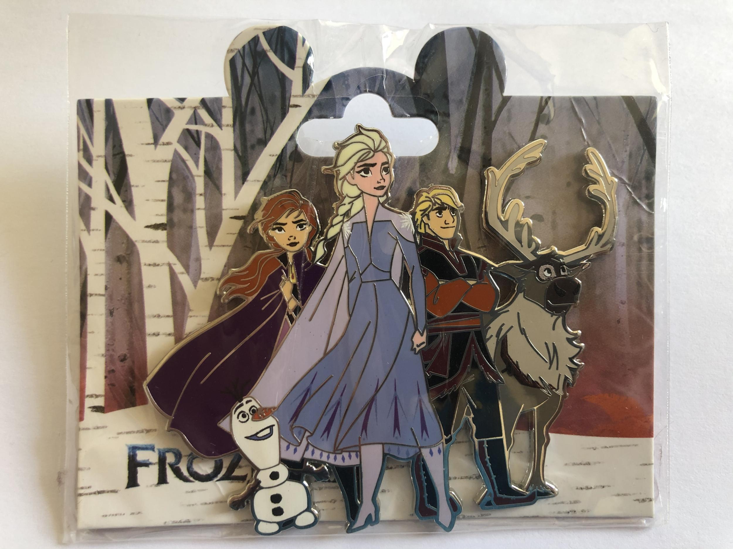 Disney - LA REINE DES NEIGES 2 : Pin\'s Frozen Family