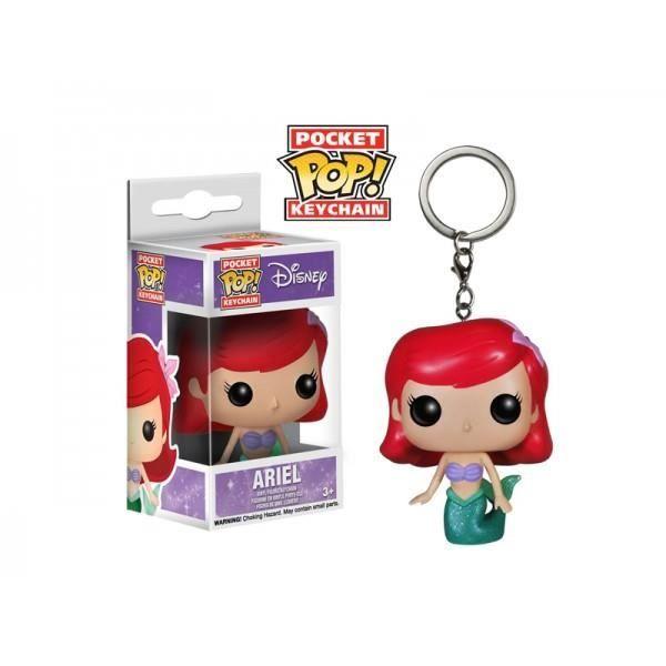 Disney : ARIEL LA PETITE SIRENE : POCKET POP KEYCHAINS Ariel