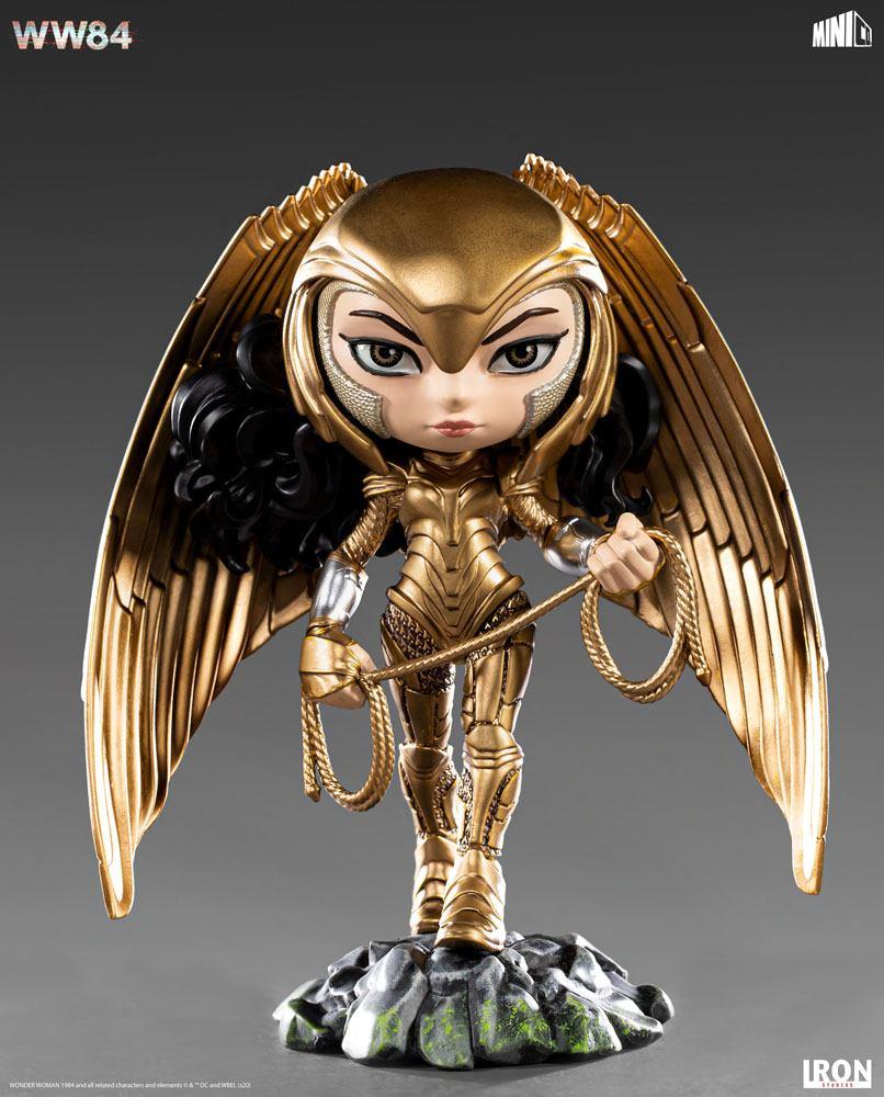 DC Comics - Mini Co : Figurine Wonder Woman Golden Armor