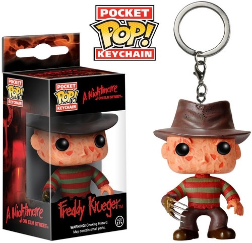 A NIGHTMARE on elm street : POCKET POP KEYCHAINS Freddy Krueger