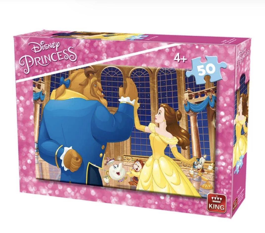 Disney - La belle et la Bête : Puzzle 50 pcs