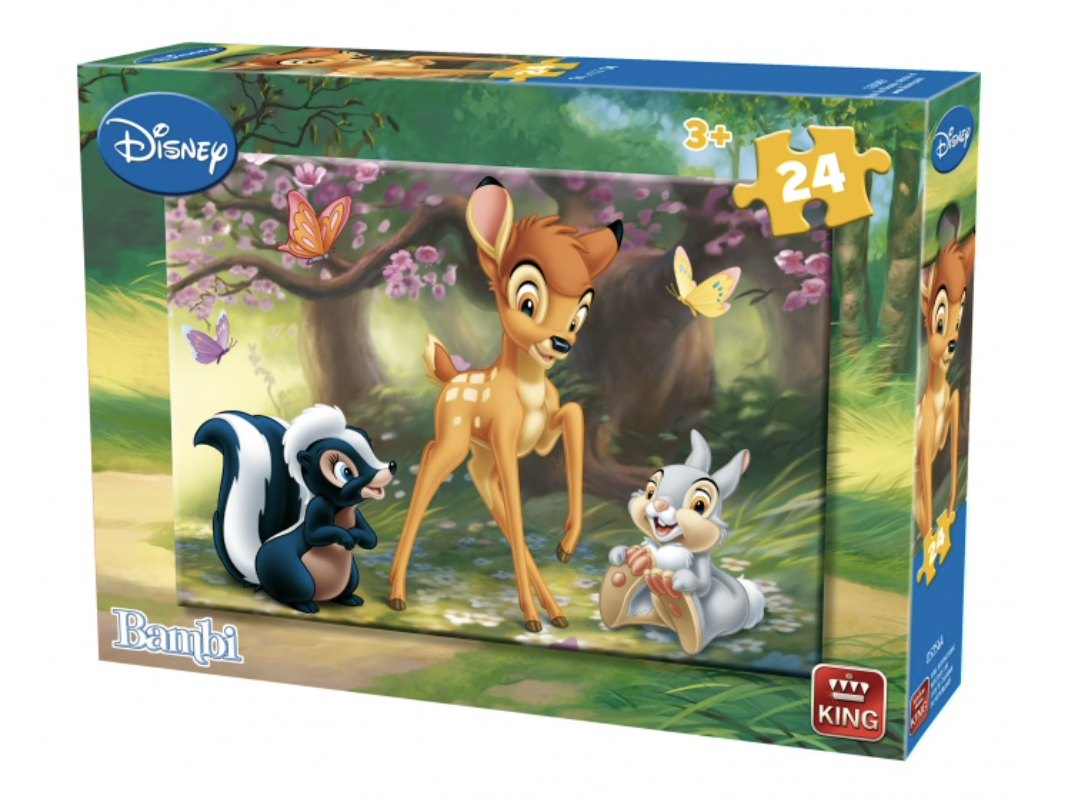 Disney - Bambi : Puzzle 24 pcs