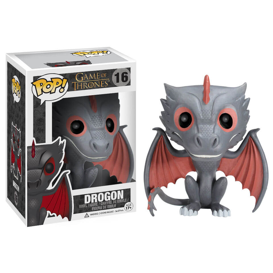 Game of thrones - Funko Pop N° 16 - Drogon (Boîte Endommagée)