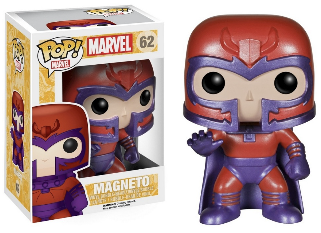 Marvel - Funko Pop N° 62 - Magneto (BOÏTE ENDOMMAGÉE)