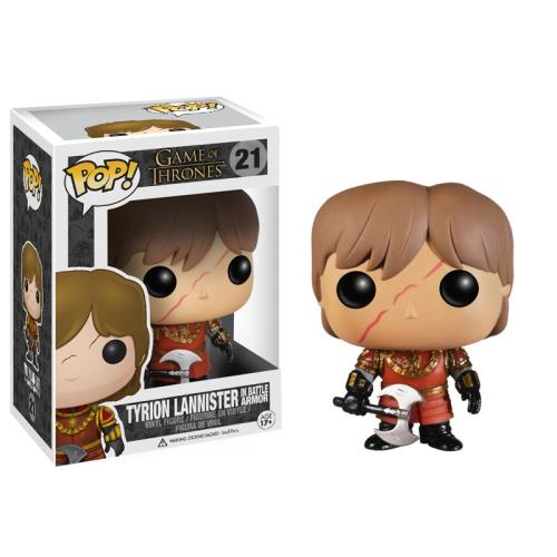 GAME OF THRONES - BOBBLE HEAD POP N° 21 - TYRION LANNISTER (IN BATTLE ARMOR)