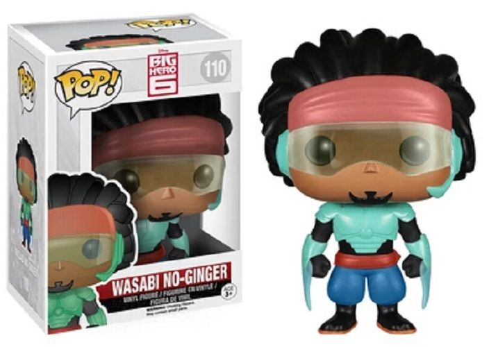 BIG HERO 6 - BOBBLE HEAD POP N° 110 - WASABI NO-GINGER