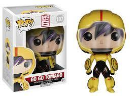 BIG HERO 6 - BOBBLE HEAD POP N° 107 - GO GO TOMAGO