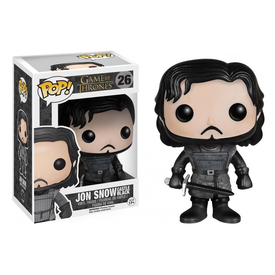Game of thrones - Funko Pop N° 26 - Jon Snow Castle (BOÎTE ENDOMMAGÉE)