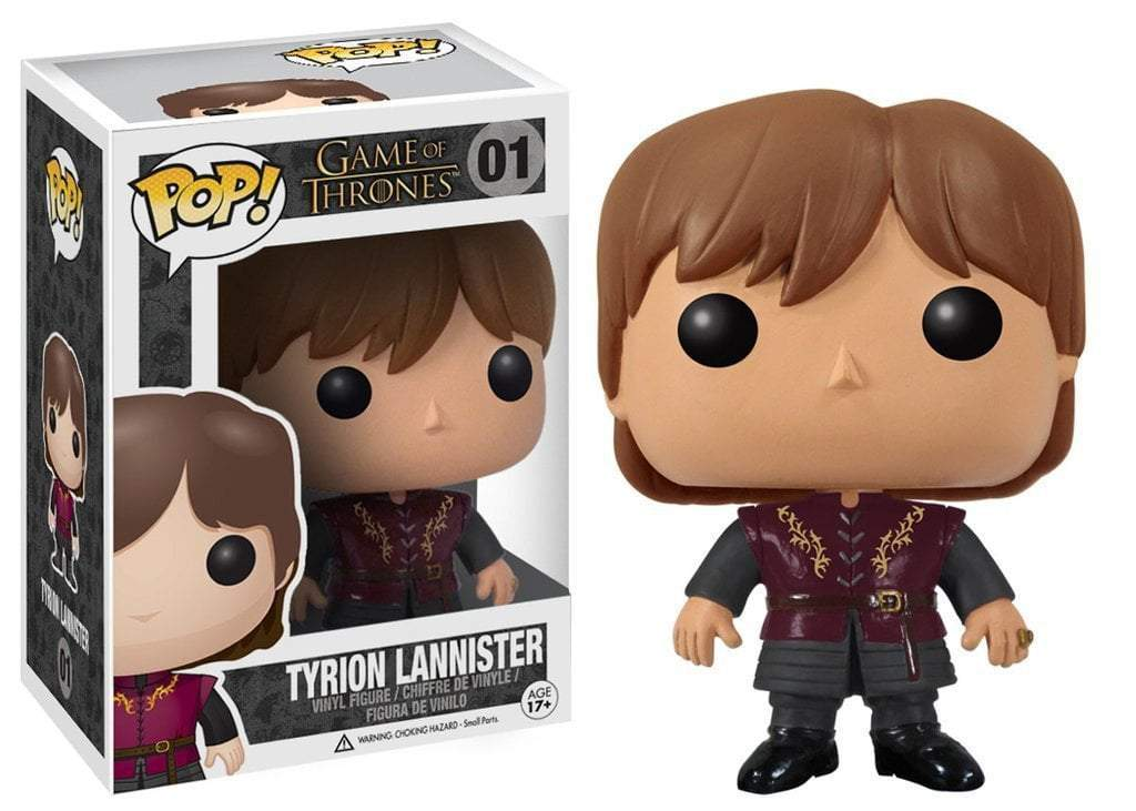 GAME OF THRONES - BOBBLE HEAD POP N° 01 - TYRION LANNISTER