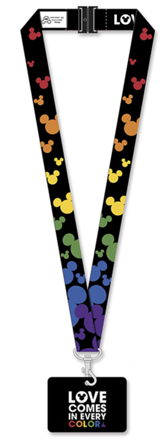 Disney - Lanière Mickey Mouse Rainbow