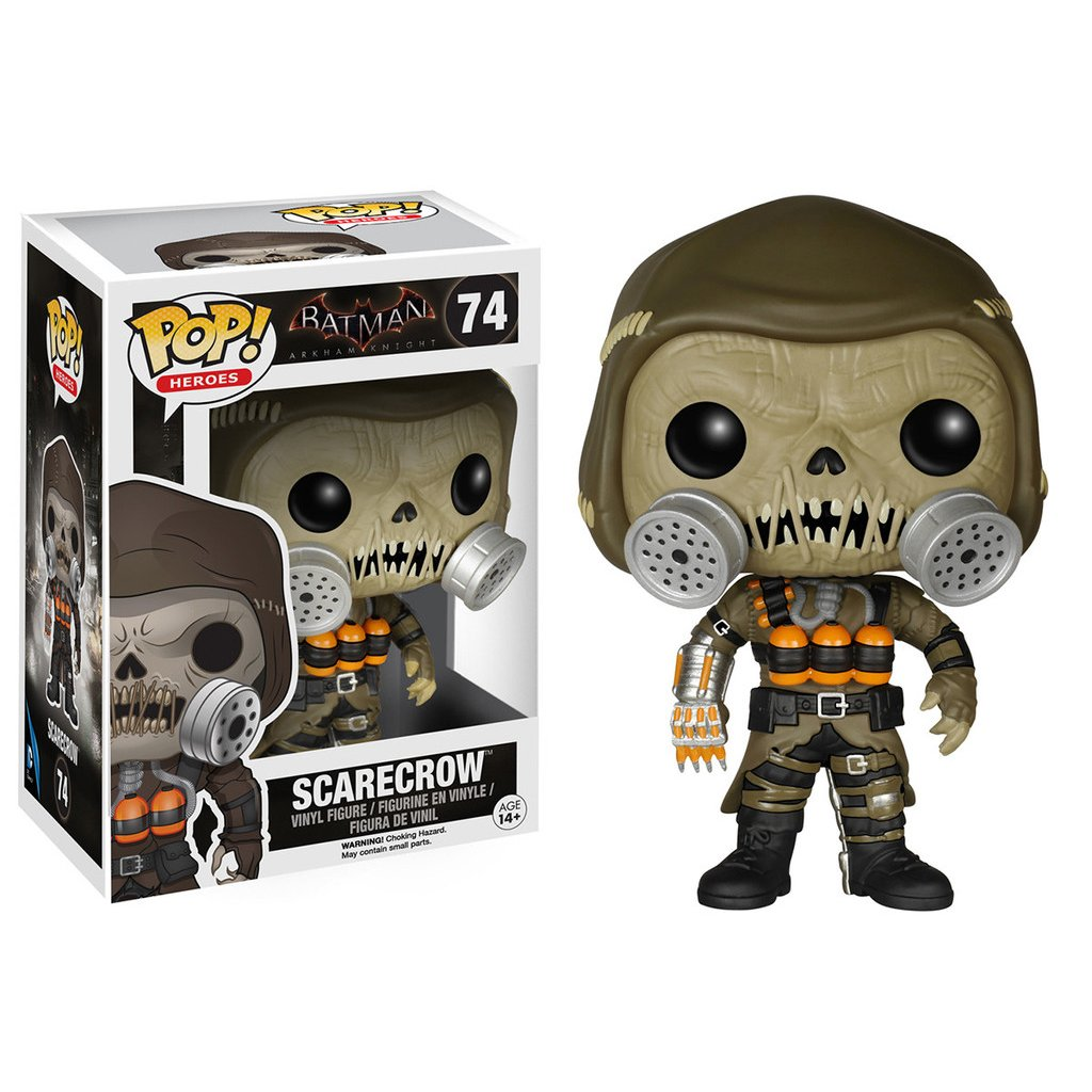 BATMAN ARKHAM KNIGHT - BOBBLE HEAD POP N° 74 - SCARECROW