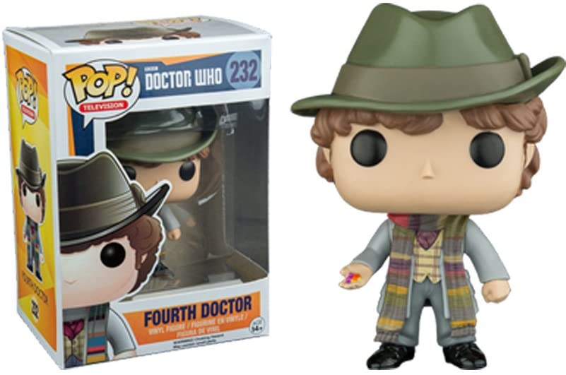 DOCTOR WHO - BOBBLE HEAD POP N° 232 : FOURTH DOCTOR (UNDERGROUND TOYS EXCLUSIVE)