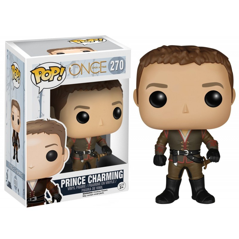 ONCE UPON A TIME - BOBBLE HEAD POP N° 270 - PRINCE CHARMING