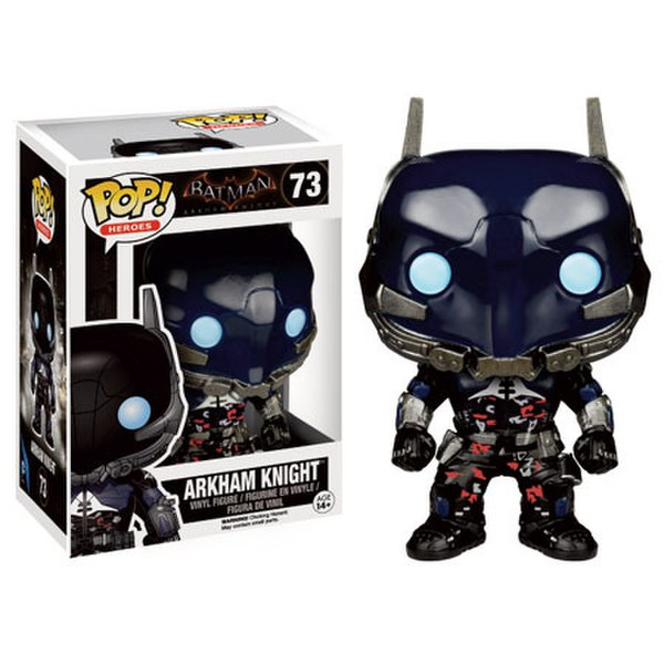 BATMAN ARKHAM KNIGHT - BOBBLE HEAD POP N° 73 - BATMAN