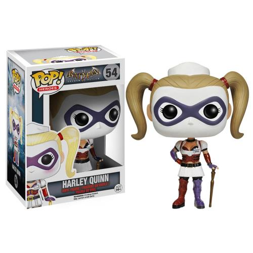 BATMAN ARKHAM ASYLUM - BOBBLE HEAD POP N° 54 : HARLEY QUINN