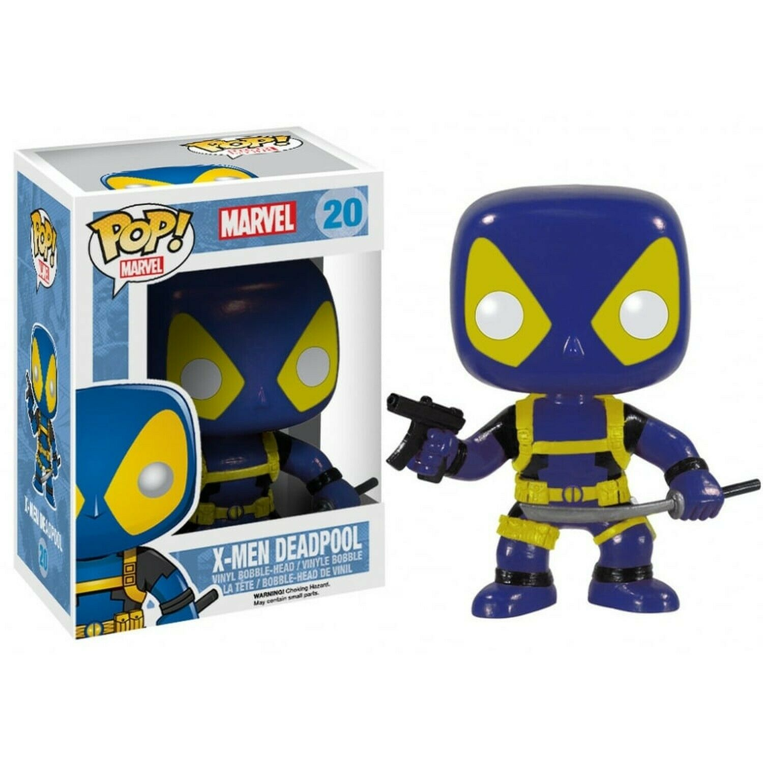MARVEL - BOBBLE HEAD POP N° 20 - X-MEN DEADPOOL