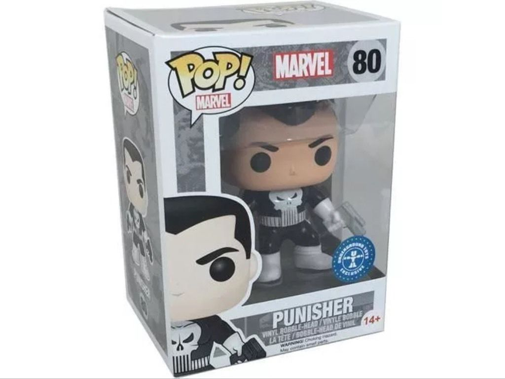 MARVEL - BOBBLE HEAD POP N° 80 : PUNISHER (UNDERGROUND TOYS EXCLUSIVE)