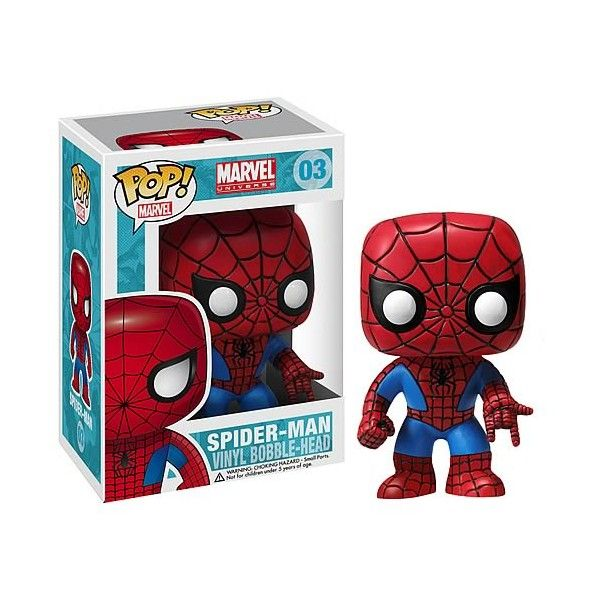 MARVEL UNIVERSE - BOBBLE HEAD POP N° 03 : SPIDER-MAN