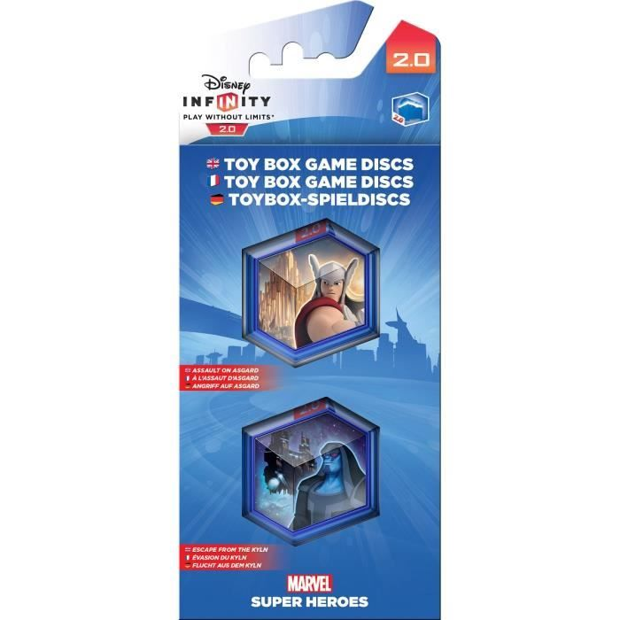 DISNEY INFINITY 2 - TOY BOX GAME DISCS - MARVEL