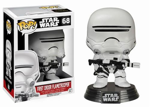 STAR WARS 7 - BOBBLE HEAD POP N° 68 : FIRST ORDER FLAMETROOPER