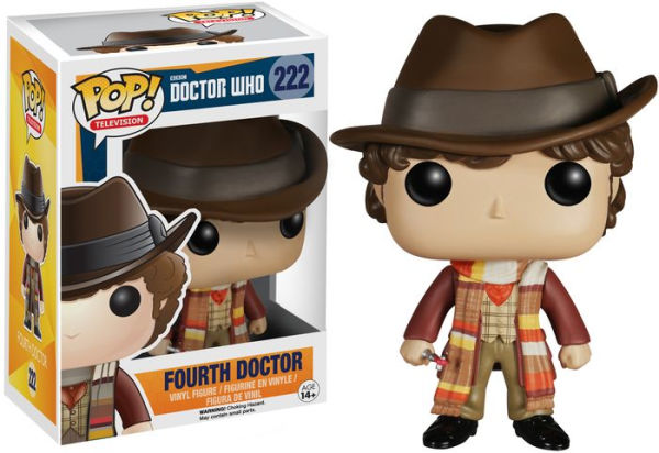 DOCTOR WHO - BOBBLE HEAD POP N° 222 : FOURTH DOCTOR