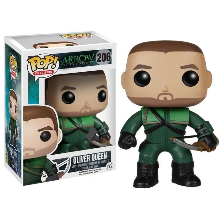 ARROW - BOBBLE HEAD POP N° 206 : OLIVER QUEEN